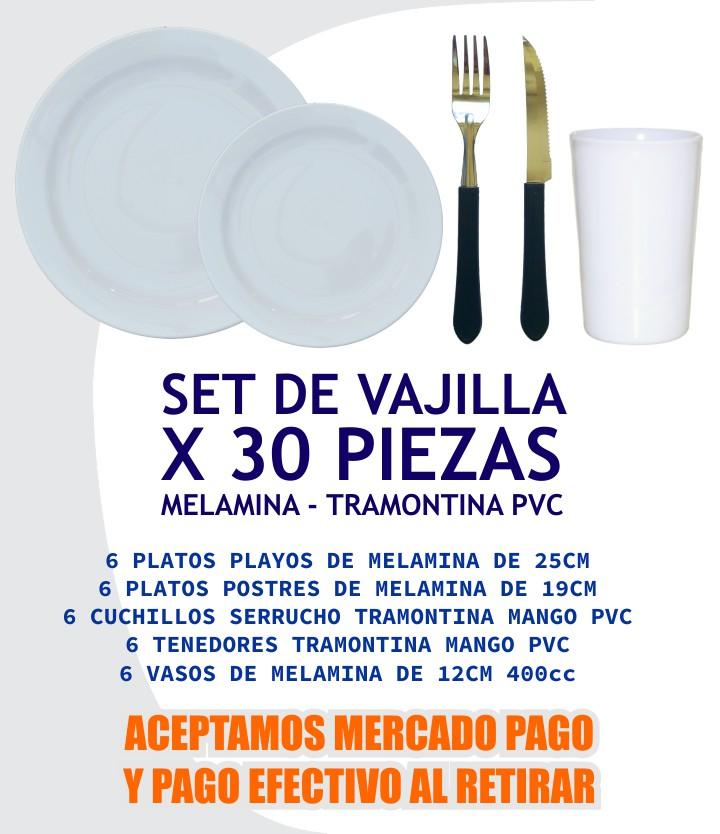 KIT VAJILLA SUPER UTIL